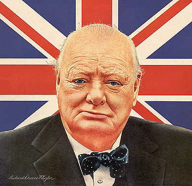 Winston Churchill | by Alan Dean