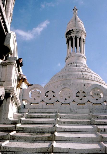 Paris , M auf dem Dach der Sacre Coeur, 10791
