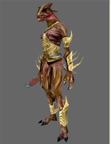 Lizardfolk Shaman 2_model | Fantasy Art and Portraits showca