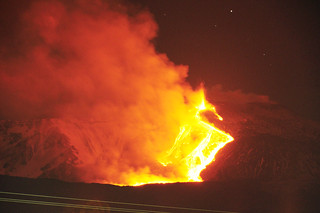 Etna Volcano Paroxysmal Eruption Jan 12 2011 - Creative Commons by gnuckx | by gnuckx