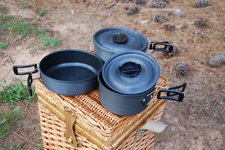 Camping cookware | by twentysixcats