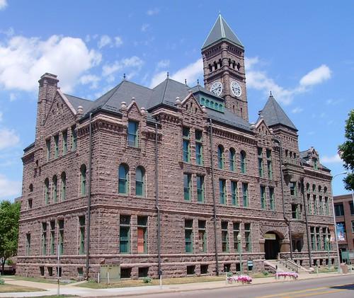 southdakota courthouses usccsdminnehaha minnehahacounty siouxfalls countycourthouses eastriversouthdakota sd siouxquartzite northamerica unitedstates us