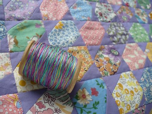 hand dyed thread