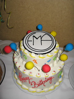 Superb Ema Birthday Cake Buttercream Iced W Fondant Plaque Christy Funny Birthday Cards Online Barepcheapnameinfo