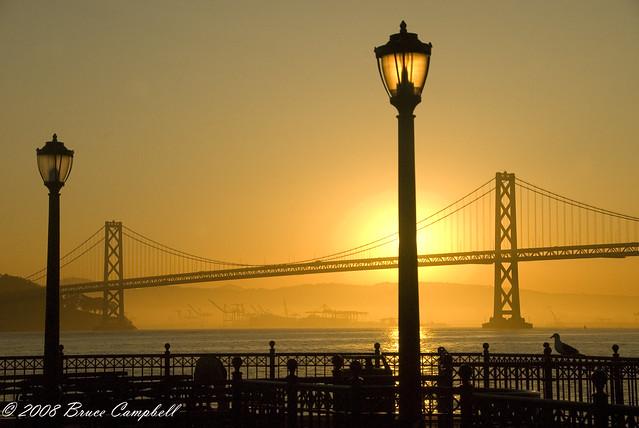 San Francisco light post