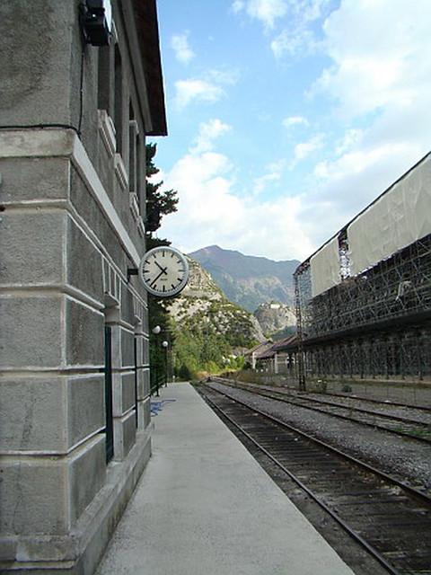 Canfranc ferrocarril y Estación Internacional Huesca 03