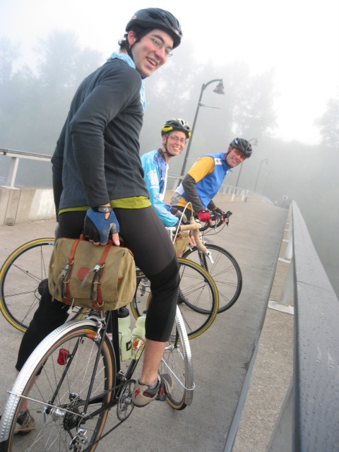 Foggy ride start