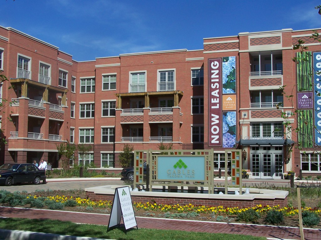 Gables Takoma apartment building, Takoma DC | Richard Layman ...