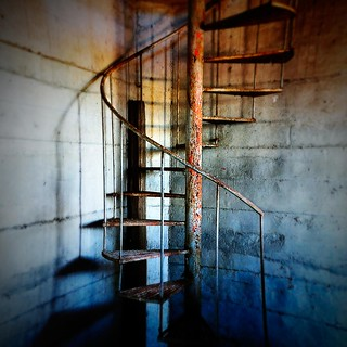 Staircase to hell... lomoed! | by Jano De Cesare