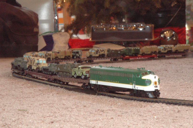 Christmas Peace Through Strength Train