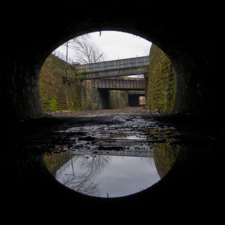 Bridgeton Tunnel Reflection | by Ben Cooper