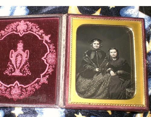 Half Plate Daguerreotype 1854