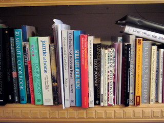 Cookery Book Library (or part thereof) | by Caro's Lines