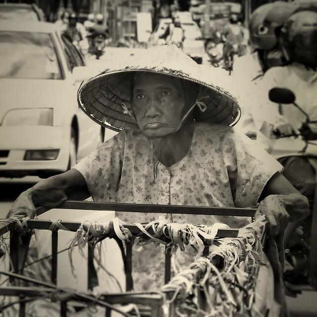 Hard life in Vientiane