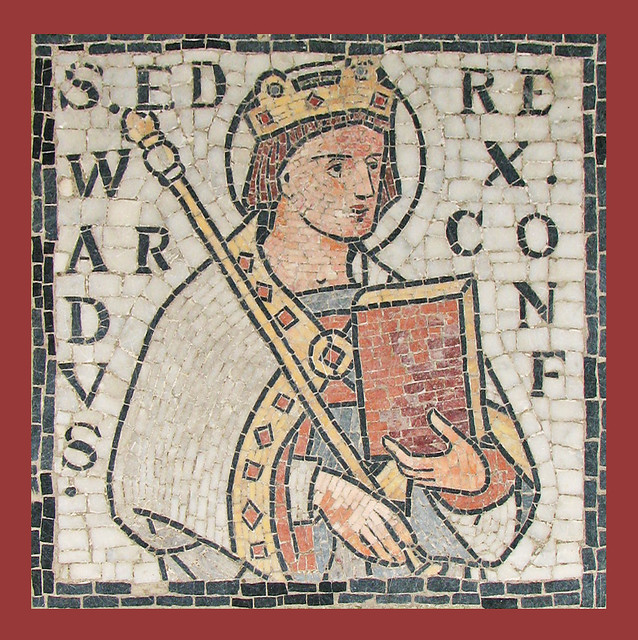 St Edward king and confessor