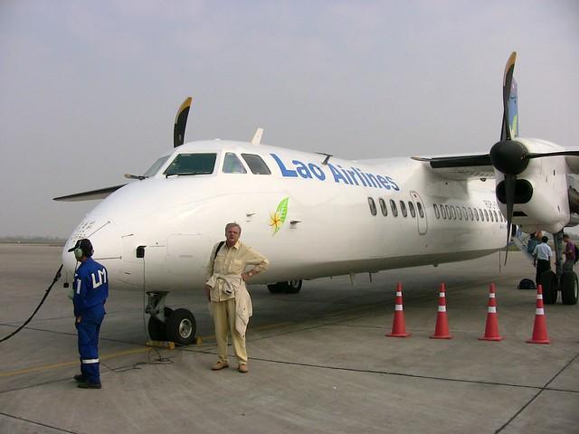 LAOS, Luang Prabang  , Sabei dii... Laos-Airlines   - 1