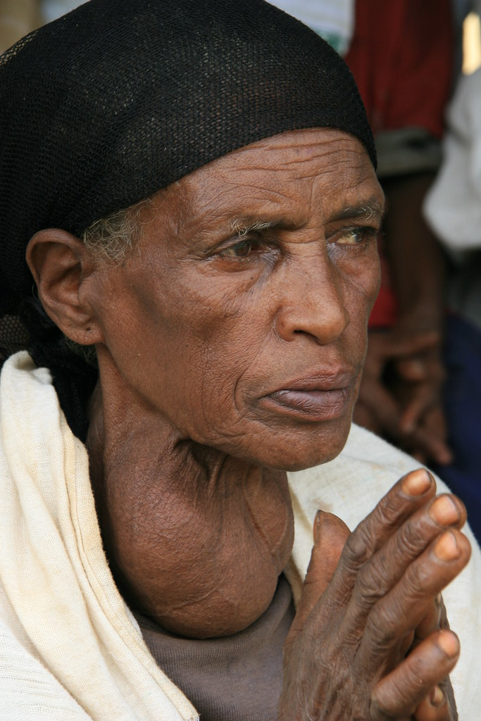 Image result for elder in Ethiopia around Dembidollo