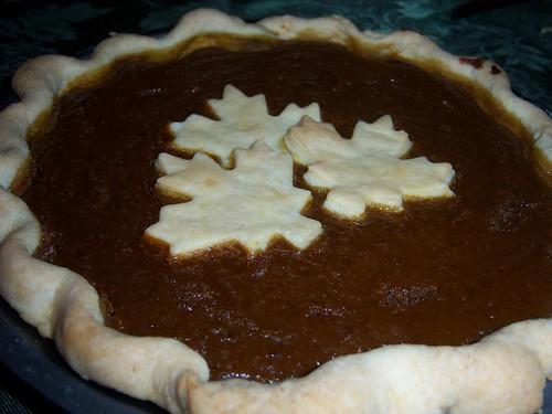 Canadian Themed American Thanksgiving Pumpkin Pie | by chefelf