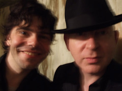 Tim Burgess & Alan McGee Webster Hall NYC | by bp fallon