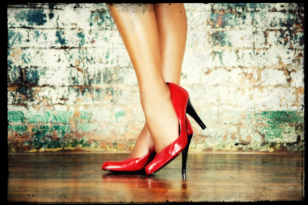 da80b74e4 Lady In Red (shoes) . . . Dancing With Me   ®2008 Bill Miles…   Flickr
