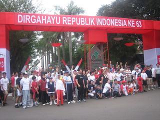Independence Gate in Metro Jakarta   by ida.sudirno