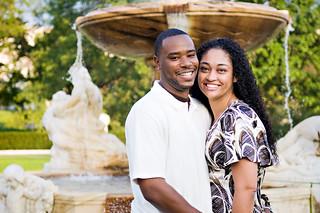 Marcus + Celeste Engagement | by Corey Ann