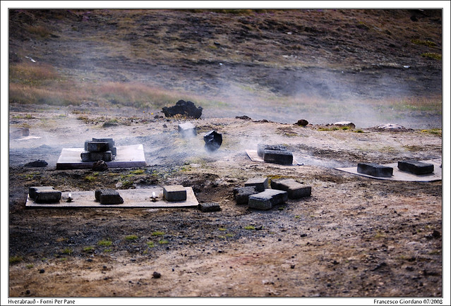 Hverabrauð - Forni per Pane / Bread Ovens