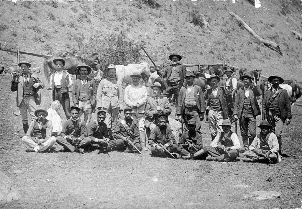 The hunt for the Governor gang of bushrangers  A posse of