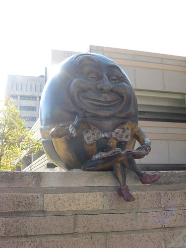 Humpty Dumpty   by anthonylibrarian