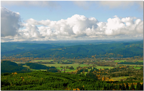 Willamette Valley View | by Don Hankins