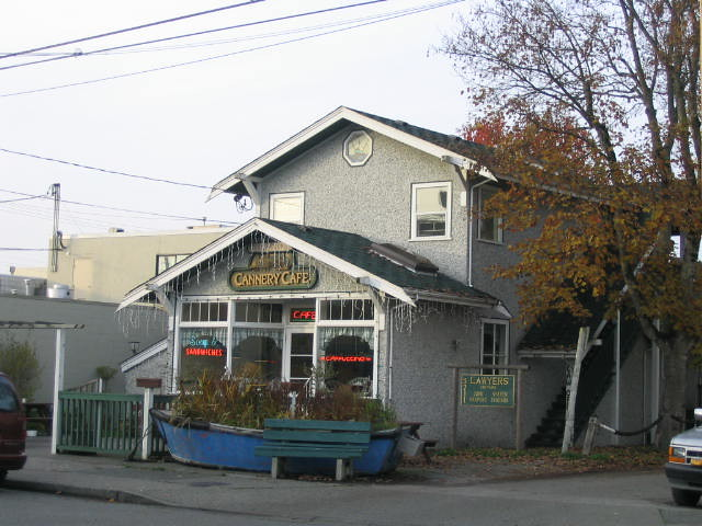 Steveston Cannery Café | This used to be an old cannery bunk