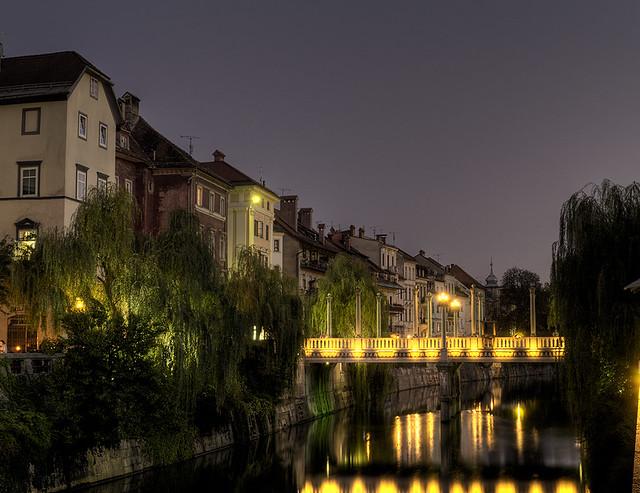 summer evening (HDR)