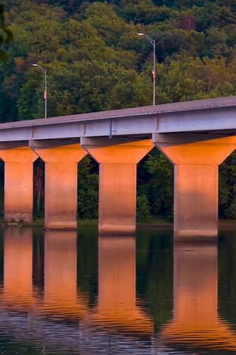 sunset susquehannariver
