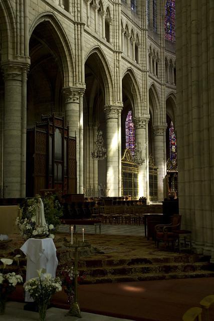 Soissons Cathedral - Choir Arcade