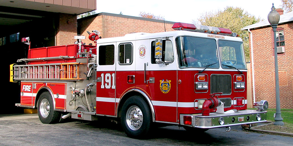 Seagrave Fire Apparatus >> Seagrave Fire Truck In Old Bowie Md Beechwood