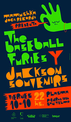 VIE 10 DE OCT . THE BASEBALL FURIES & JACKSON SOUVENIRS | by Mamushka Dogs