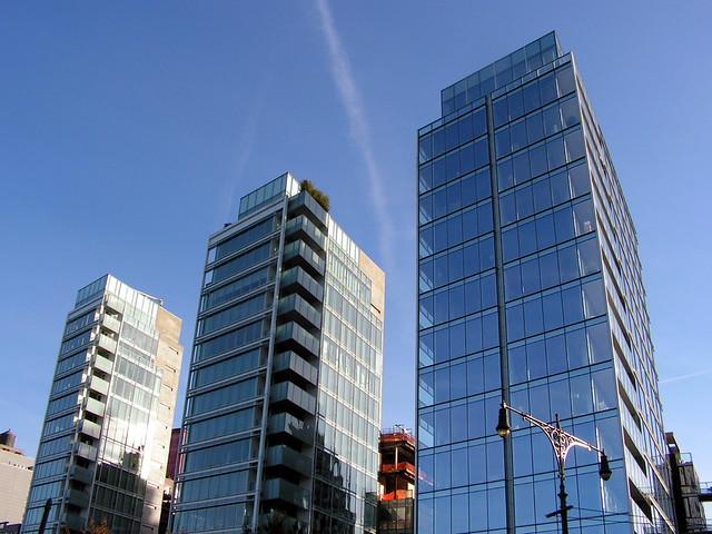 Richard Meier - NYC - perspective