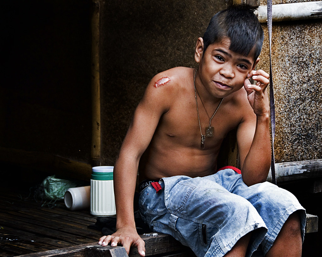 Cebu Barangay Alaska A Barangay Boy With Chicken Hair Flickr