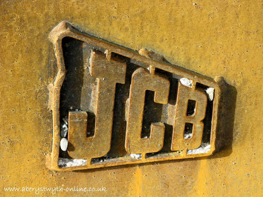 JCB Logo | Produced by: Aberystwyth Online Town Guide JCB Lo