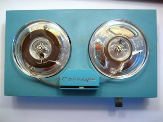 Carnegie Portable Reel-to-Reel Tape Recorder | by 12th St David