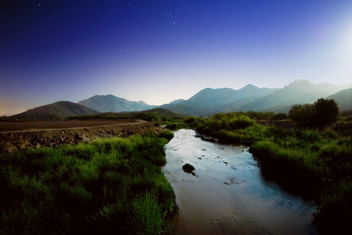 longexposure mountains night river stars camarillo scarydairy