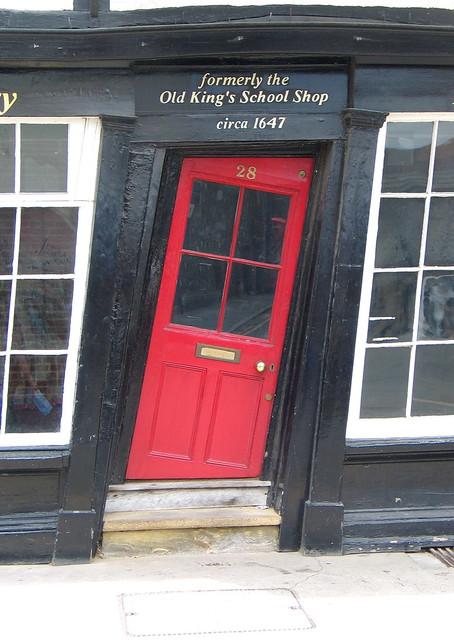 Old King School Shop, Canterbury, UK