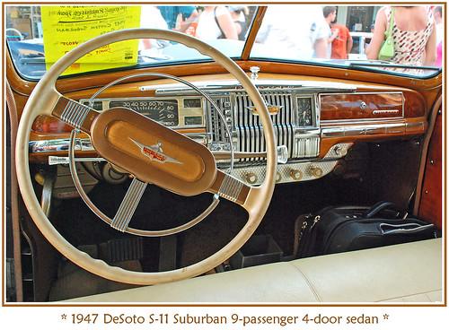 Suburban Chrysler Ann Arbor >> 1947 DeSoto Suburban   The Rolling Sculpture car show in ...