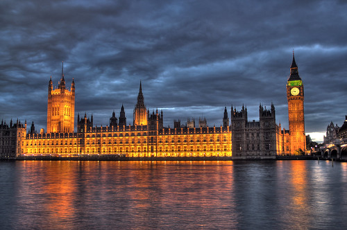 The British Parliament and Big Ben   by ** Maurice **