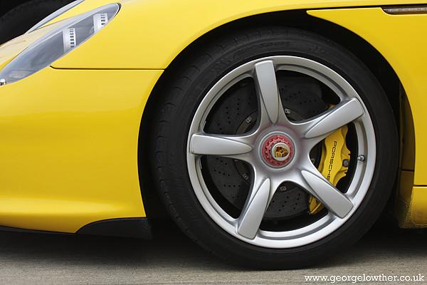 Porsche Carrera GT wheel