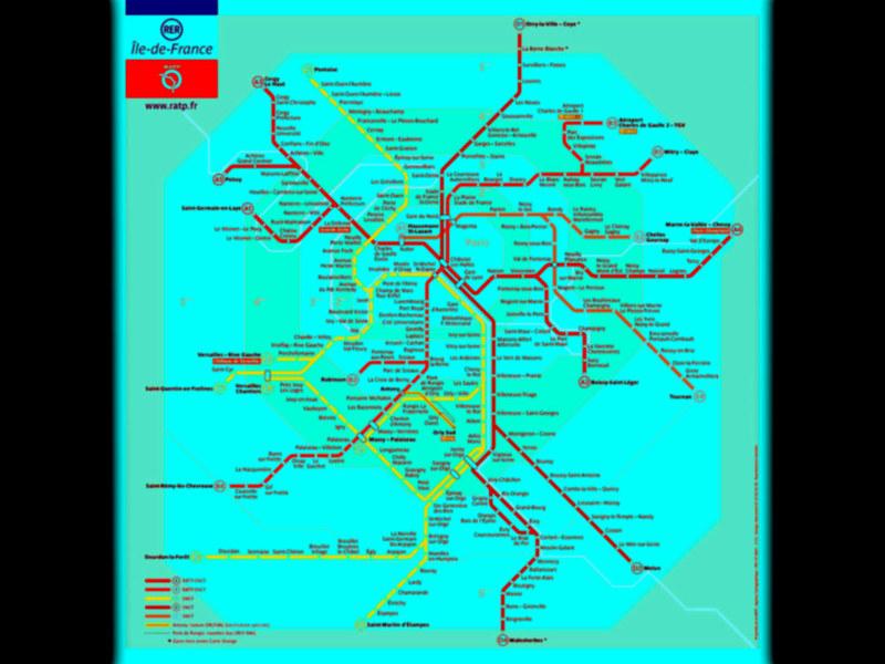 Plano del metro, infografía