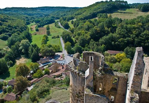 Chateau de Bonaguil, Lot et Garonne, France, Sept. 2008