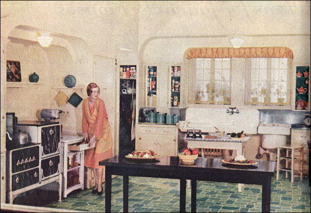 1930 State of the Art Kitchen