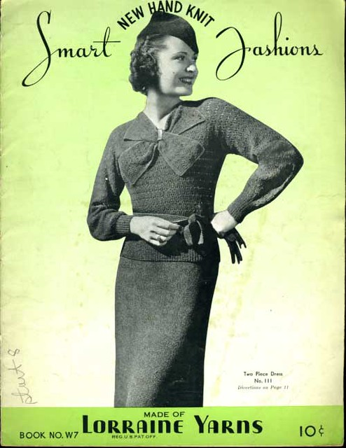 Vintage 1940s Knitting Patterns - a photo on Flickriver