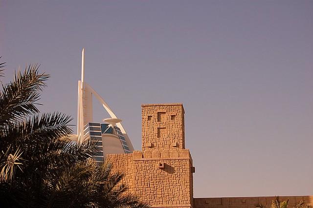 Old & new Dubai U.A.E.